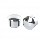 Velodrome Shop Chrome Bar End Plugs